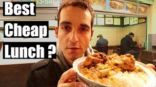Living Cheap in NYC- $5 HIDDEN Lunch Spots in Midtown Manhattan !