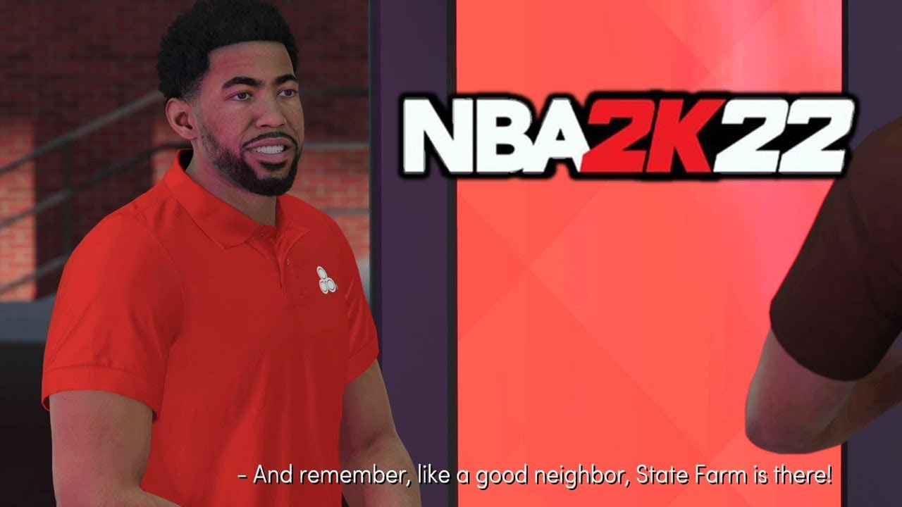Why Is Jake From State Farm In Video Game Nba 2k22 Video