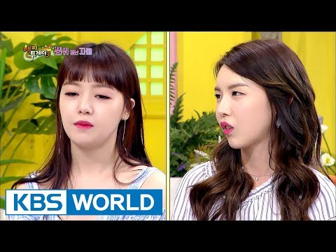 Girl's Day Minah is a senior to her older sister Lina&made her bow down?[Happy Together/2017.08.24]