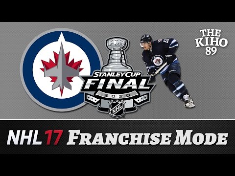 """NHL 17 Franchise Mode: Winnipeg Jakso 33 """"Stanley Cup Finaali"""""""