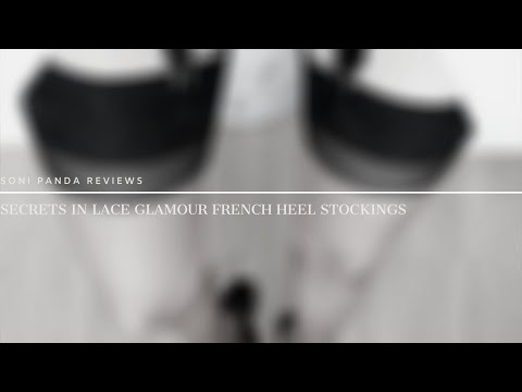 Secrets In Lace Glamour French Heel Stockings