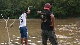 Kageet !!Pancing Baru Turun,Langsung Di Sambar Ikan Target Monster