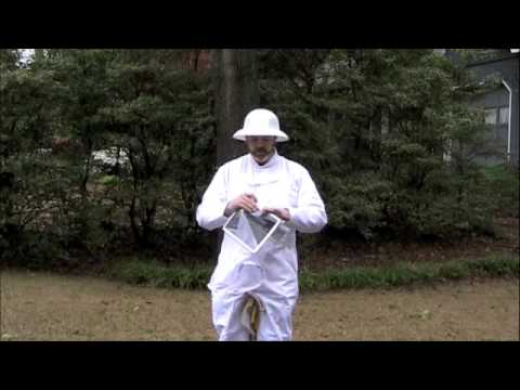 Bee Suit Demonstration