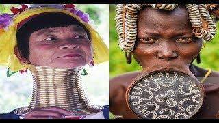 🔴 Os padrões de beleza femininos mais BIZARROS do mundo!