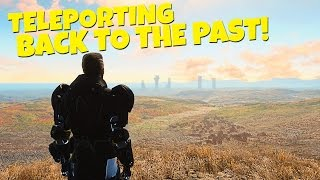 Fallout 4 - Teleporting Back To The Past Prewar Settlements - Sanctuary