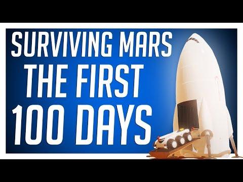 FIRST 100 DAYS - SURVIVING MARS Gameplay
