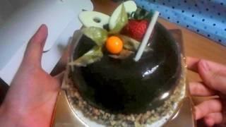 Lucullus's Chocolate Banana Novel Crunchy Cake // 龍島 朱古力香蕉心太軟奇趣蛋糕