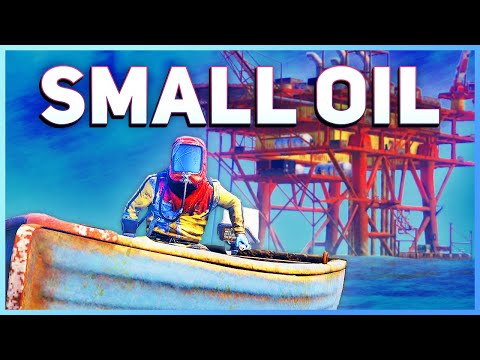 Small Oil Rig Guide | Rust Tutorial