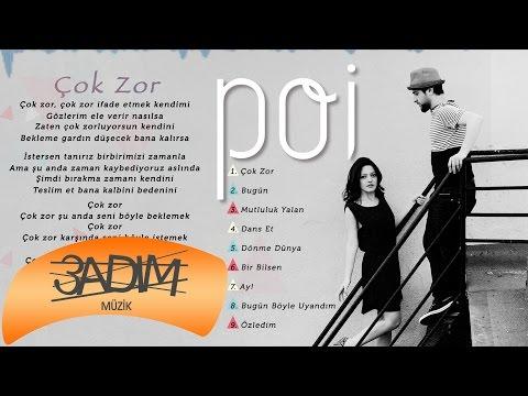 Poi - Çok Zor ( Official Lyric Video )