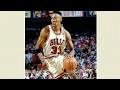 Scottie Pippen vs Hornets  20 12 1993    22 Pts  11 Rebs  10 Assists  5 Stls  11 19 FGM