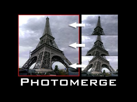 Photoshop Tutorial: Photomerge! How to Merge Multiple Photos into a Seamless Image