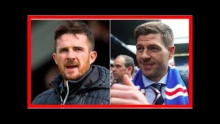 Breaking News | What Barry Ferguson has said about Steven Gerrard playing for Rangers is so true