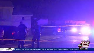 3 people shot in front of young children inside Kirby mobile home