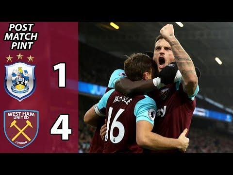 Huddersfield 1-4 West Ham | Post Match Pint