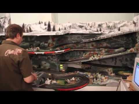 Slot racing rally car – Scalex Club Oupeye (Belgium)