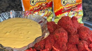 How To Make HOT CHEETO CHICKEN WINGS   Appetizers