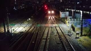 貨物列車 1089レ EF66-30 2017/11/15 花月園前踏切付近