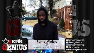 Ryme Minista - Girl [Primetime Riddim] April 2015