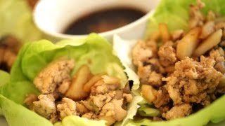 Beth's Chicken Lettuce Wraps (real-time Recipe!)