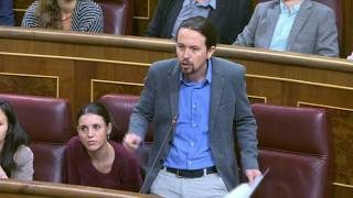 LECCIONES CON...Pablo Iglesias recibe la del pulpo, Mariano Rajoy le vapulea