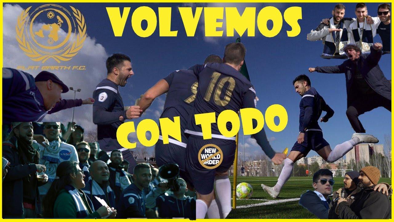 CONTINUAMOS EL DIRECTO AQUÍ....Novedades sobre El Flat Earth Futbol Club