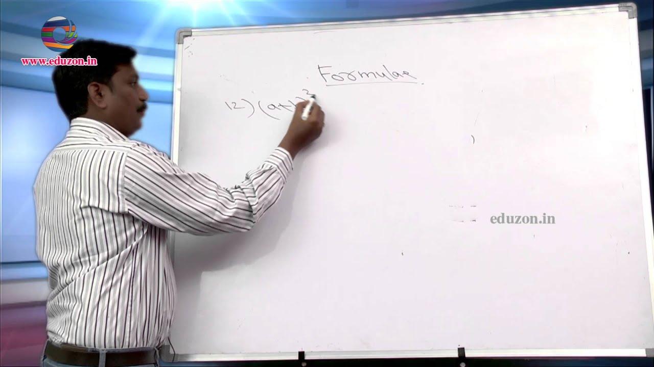 Mathematics Formulas for Examinations YouTube – Math Formulas Worksheet