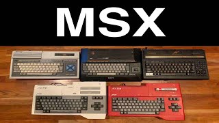 MSX Retro Game Computers Unboxed -- Just Arrived From Egypt!