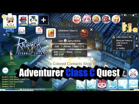 Ragnarok M Eternal Love Adventure Class C Quest