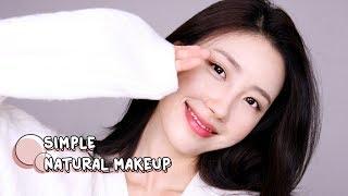 올로드샵👀 매일 할 수 있는 간단 내츄럴 메이크업(노파데베이스) l 이사배(RISABAE Makeup)