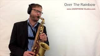 Over The Rainbow - Sax Cover (Selmer Reference 54 Alto Saxophone)
