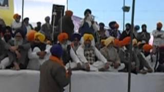 prof. mohinderpal singh ji  at fatehgarh sahib[ birthday sant bhindrawale] ch ,26,12.2012,part 1