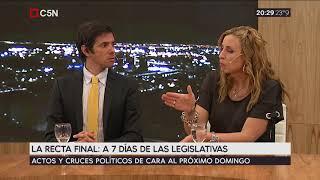 Debate a 7 días de las elecciones legislativas