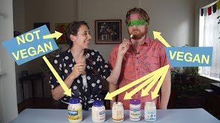 Vegan Mayo vs. Non-Vegan Mayo // BLIND TASTE TEST