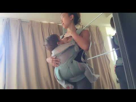 How To: Front Carry, Breastfeed in Carrier, and Back Carry using Ergo Baby