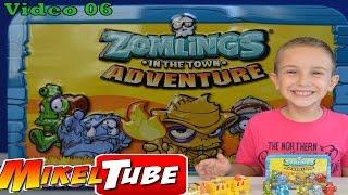 ZOMLINGS Series 3  en Español in the town ADVENTURE de Magic Box