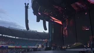One & Photograph - Ed Sheeran • Ullevi Stadium, Gothenburg 2018