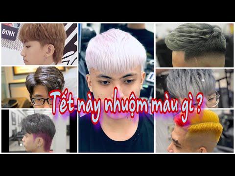 Những Màu Nhuộm tóc chơi Tết và các kiểu tóc cực Trend, cực đẹp.