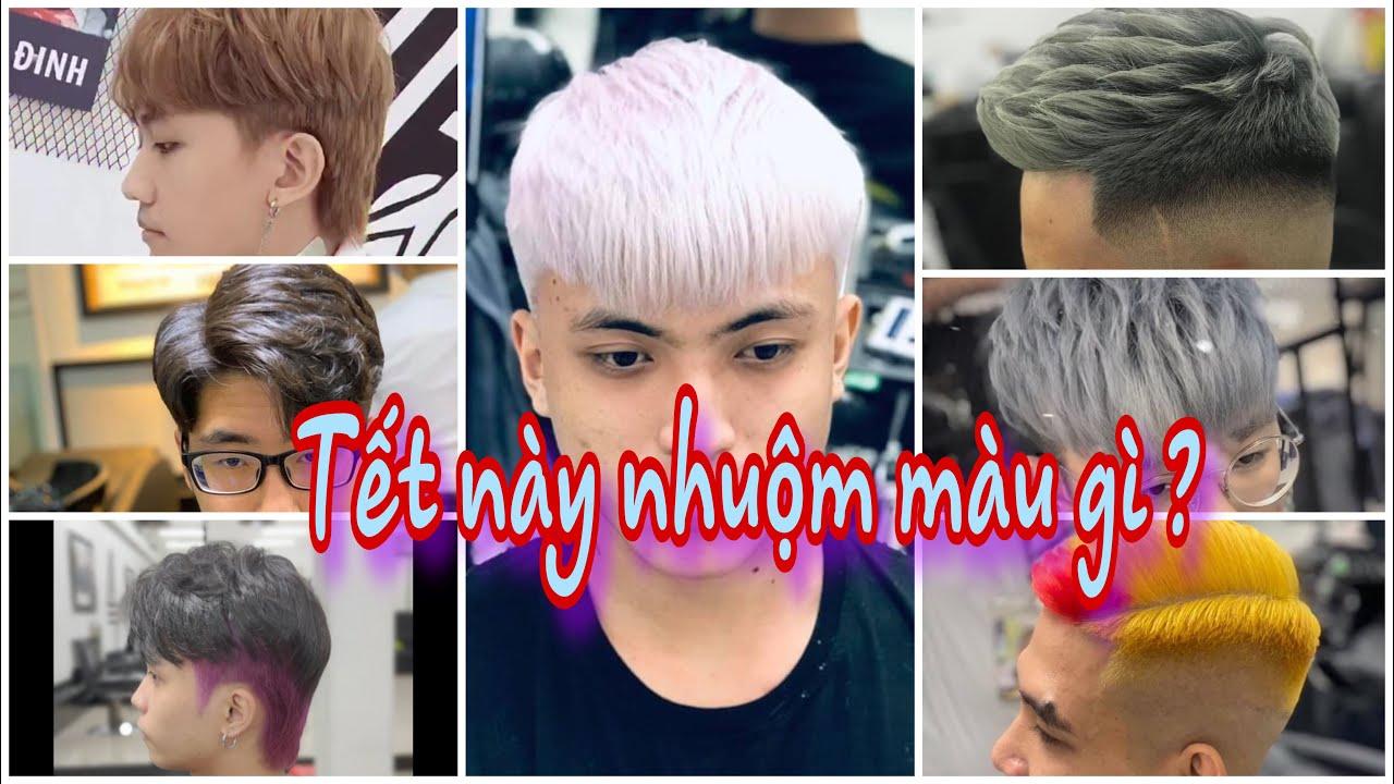 Những Màu Nhuộm tóc chơi Tết và các kiểu tóc cực Trend, cực đẹp. | Tổng hợp những tài liệu liên quan nhung kieu toc hot nhat hien nay cua nam chính xác