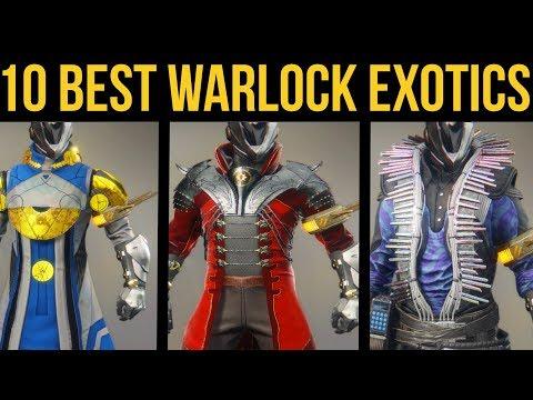 Destiny 2 Forsaken: Top 10 Best Warlock Exotic Armor