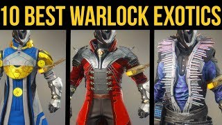 Destiny 2 Forsaken: Top 10 Best Warlock Exotic Armor