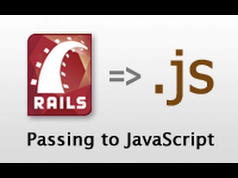 Ruby on Rails - Railscasts #324 Passing Data To Javascript