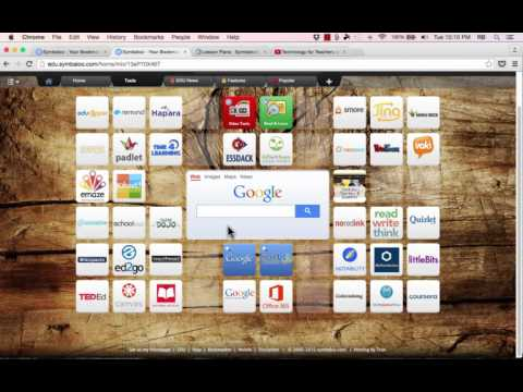 Symbaloo Tutorial 2015 social bookmarking tool for teachers