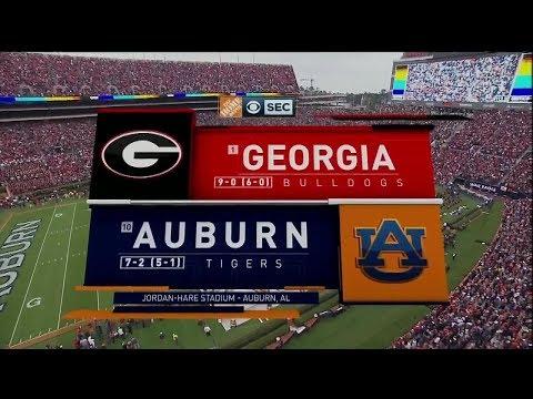 Auburn vs. Georgia 2017