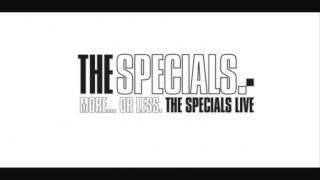 The Specials ~ Pearl's Cafe (Live)