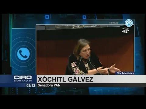 Senado no eliminó legalmente el fuero presidencial, fue pura simulación: Xóchitl Gálvez