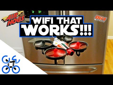 BEST WIFI FPV FLIER!!! Air Hogs Official DR1 Race Drone Review