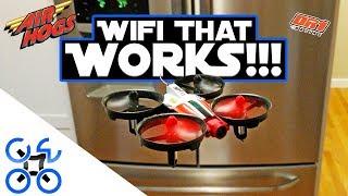 BEST WIFI FPV FLIER!!! Air Hogs Official DR1 Race Drone Review thumbnail