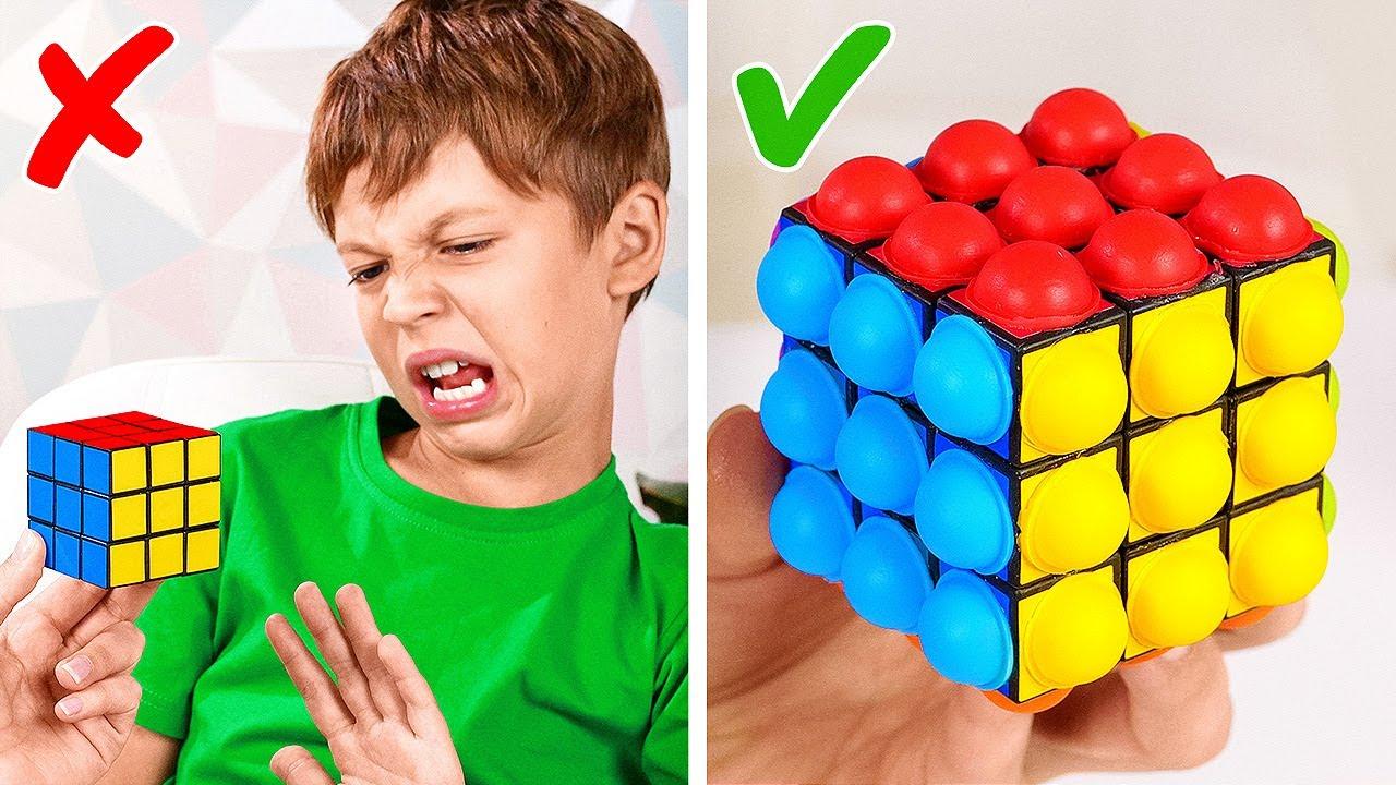 Brilliant Hacks For Smart Parents || Easy Toy DIY Ideas