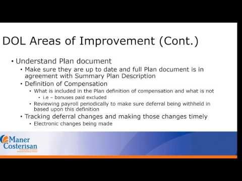 Employee Benefit Plans and the Impact of the new DOL Fiduciary rule for Plan Sponsors -7/31/2017