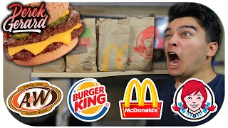 WHO HAS THE BEST CHEESEBURGER  Fast Food Olympics